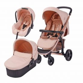 My Babiie MB200+ Billie Faiers Rose Gold and Blush Travel System