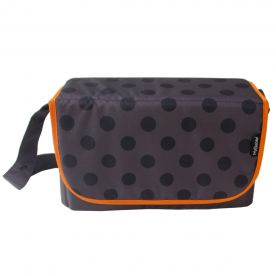 My Babiie Grey Polka Baby Changing Bag
