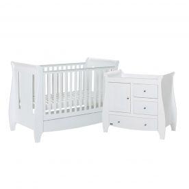 Tutti Bambini Lucas 2 Piece Set - White