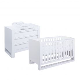 Rimini 2 Piece Room Set - Gloss White