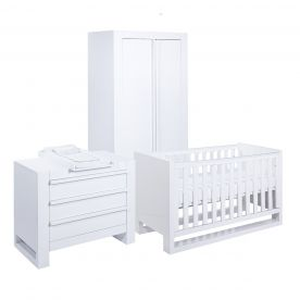 Rimini 3 Piece Room Set - Gloss White