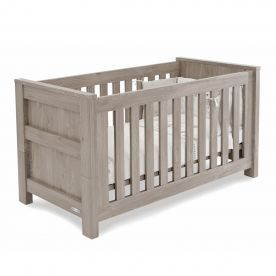 BabyStyle Bordeaux Cot Bed - Ash