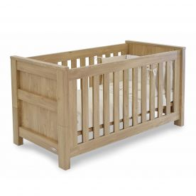 BabyStyle Bordeaux Cot Bed - Oak