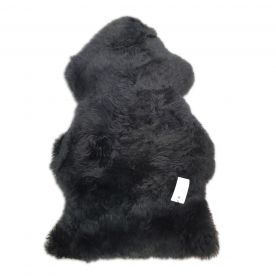 Bozz 100% Sheepskin Rug - Black