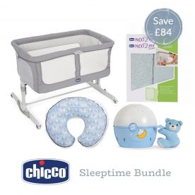 Chicco Next2Me Sleeptime Bundle - Blue