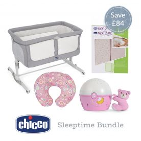 Chicco Next2Me Sleeptime Bundle - Pink