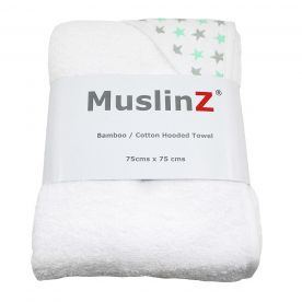 Muslinz Hooded Towel - Stars