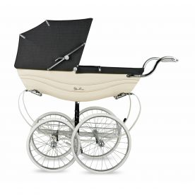 Silver Cross Balmoral Pram - Cream & Brown