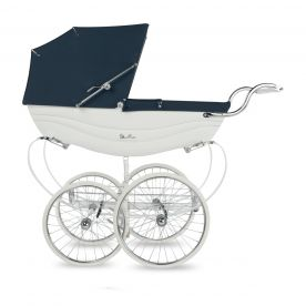 Silver Cross Balmoral Pram - White