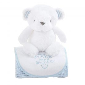 Bizzi Growin Bear Gift Set - Blue