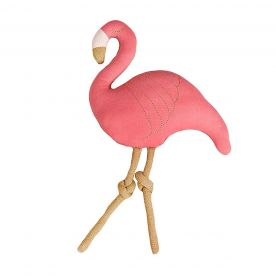 Bizzi Growin Flora Flamingo Shaped Cushion