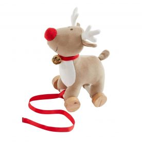 Bizzi Growin Rudolf The Reindeer Pull Along Toy