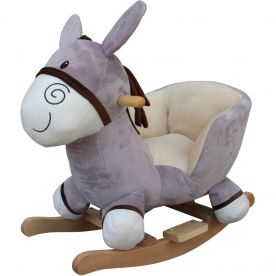 Cuddles Collection Donkey Rocking Toy