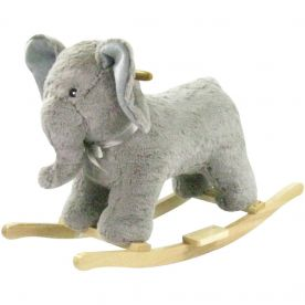 Cuddles Collection Elephant Rocking Toy