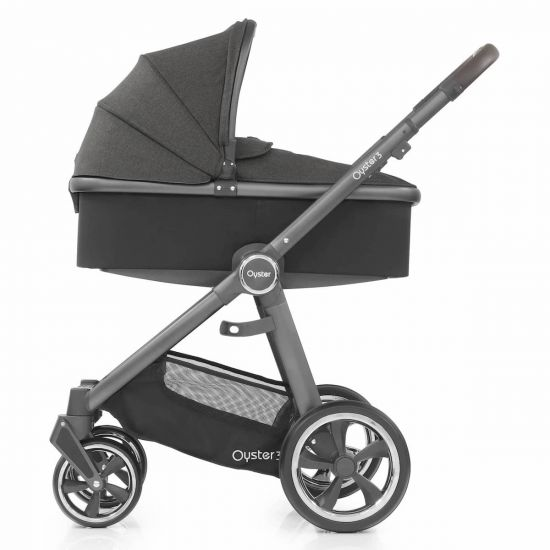 Babystyle Oyster3 Pram Carrycot Pepper City Grey